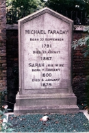 ФАРАДЕЙ Майкл (Faraday Michael). Могила на Highgate Cemetery (West)  Highgate London Borough of Camden Greater London, England