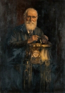 ТОМСОН (Кельвин) Уильям (Thomson William, Baron Kelvin). Художник Harry Herman Salomon. Источник: https://artuk.org/discover/artworks/william-thomson-18241907-lord-kelvin-physicist-126219/view_as/grid/search/keyword:physicist/page/1